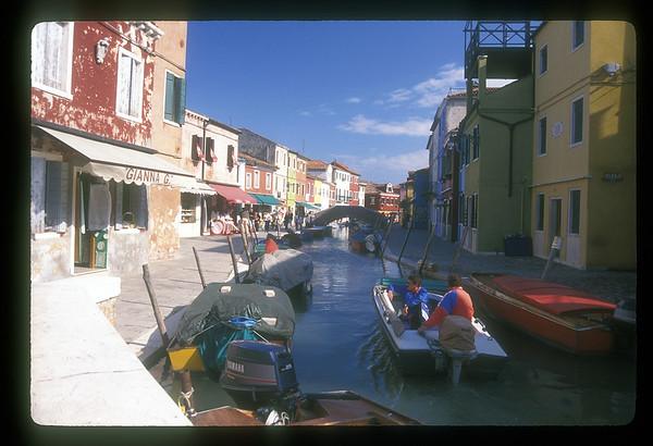 Island of Burano, Italy.