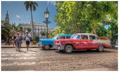 Downtown Havana, Cuba.
