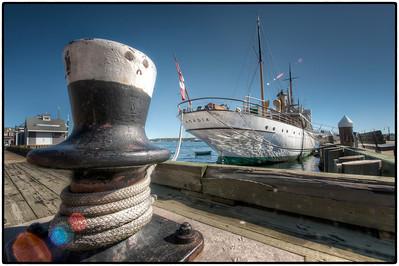 The waterfront at Halifax, Nova Scotia, Canada - HDR.