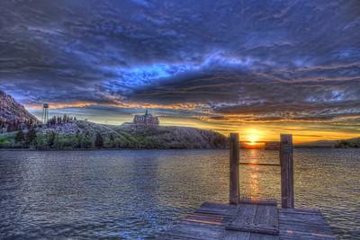 Dawn on the Dock