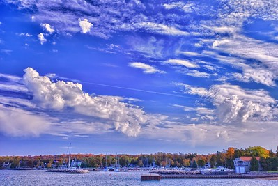 Clouds Over Sister Bay