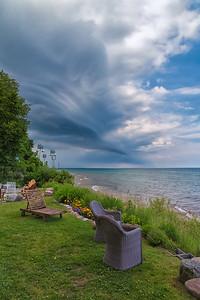 Eerie Summer Storm Clouds