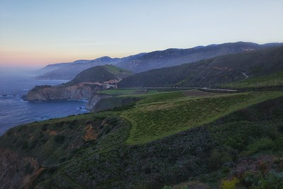 Bixby Creek Bridge from Hurricane Point