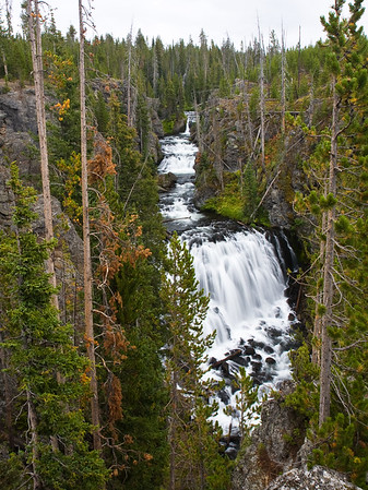 Kepler Cascades - Yellowstone National Park, WY