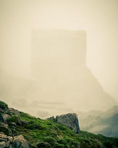 Rocks in Mist 2 - Niagara Falls State Park, NY