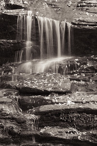 Water Fall Close-Up - Deep Creek, Great Smokies National Park, NC