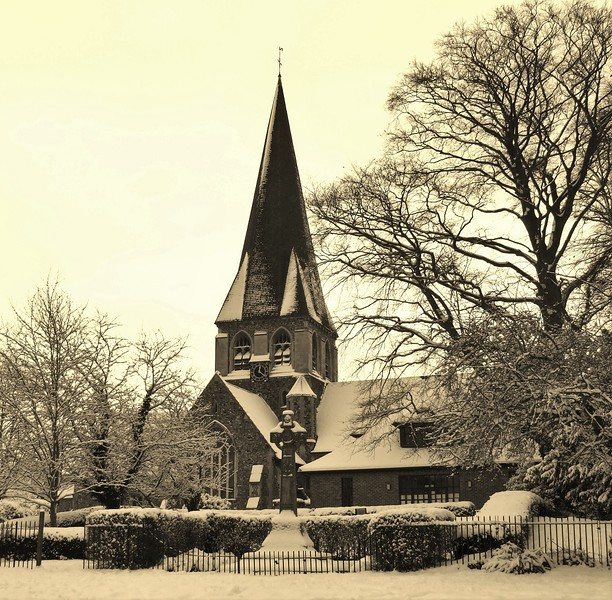 WHITE WEATHER SCENE by Colin Wright