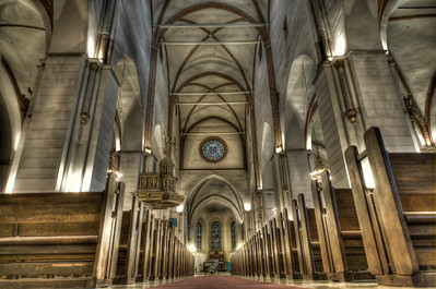 Rigas Doms, the Riga Cathedral, Riga, Latvia.