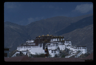 The Potala, Lhasa, Tibet.