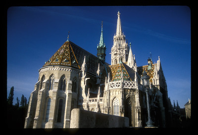 St. Matthias Church, Budapest, Hungary.