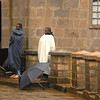 Worshippers at St. Mary's Church, Mt. Entoto, Ethiopia.