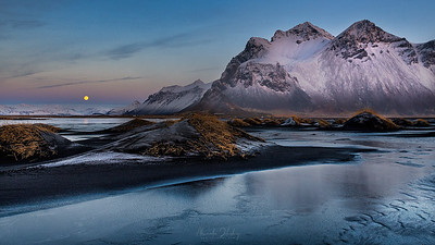 Vestrahorn in the First Light