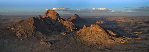 The Big Spitzkoppe Mountain