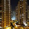 Modern condominiums along the coast in Barra Da Tijuca, Rio de Janeiro, Brazil