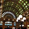 Pittsburgh & Lake Erie railroad station in Pennsylvania, USA