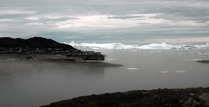 Late summer evening at Ilulissat, west Greenland
