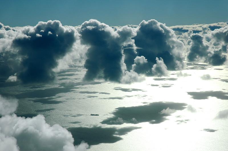 Cumulus clouds, offshore western Australia