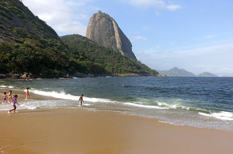 Praia Vermelha and the Pão de Açúcar in Rio de Janeiro, Brazil