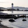 Coastal scenery at Porto Faro, Sardinia, Italy
