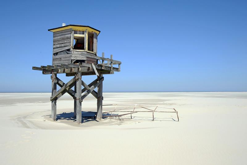 High-water shelter on Vlieland, The Netherlands