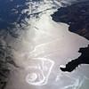 Coastal eddy in the Ionian Sea, western Greece