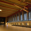 Abandoned Tempelhof airport terminal in Berlin, Germany