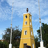Kralendijk fort and lighthouse on Bonaire