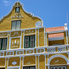 Penha building along the Handelskade in Willemstad, Curaçao