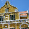 Penha building along the Handelskade in Willemstad, Curaçao