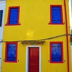 House on Merano island near Venice, Italy