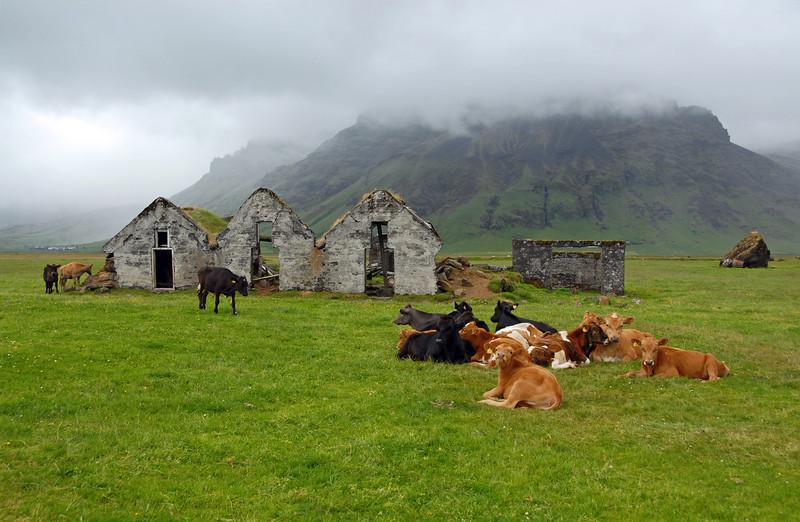 Abandoned farm, southern Iceland
