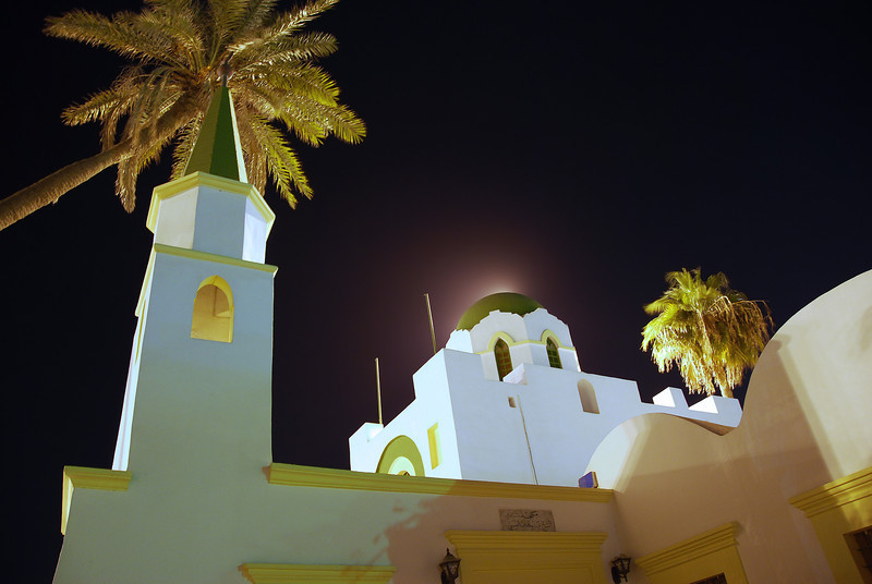 Sidi Abdul Wahab mosque in the old medina of Tripoli, Libya
