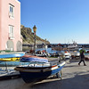 Fishing village of Corricella on the island of Procida, Italy