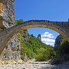 Medieval bridge in the Zagoria region, northern Greece