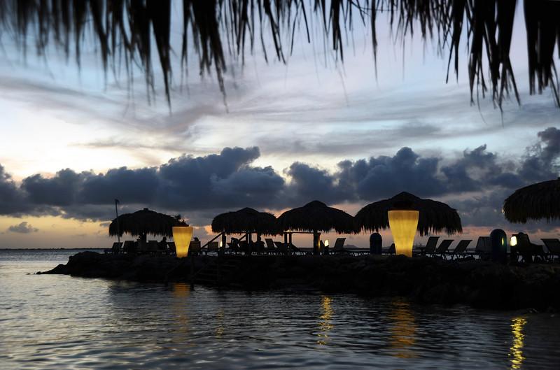 Beach, bar and beer on Bonaire