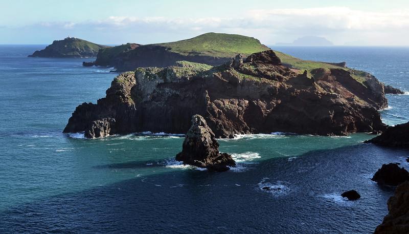 Cape of Sao Lorenço in northeast Madeira, Portugal