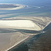 Tidal channels and sand banks in the Wadden Sea, The Netherlands