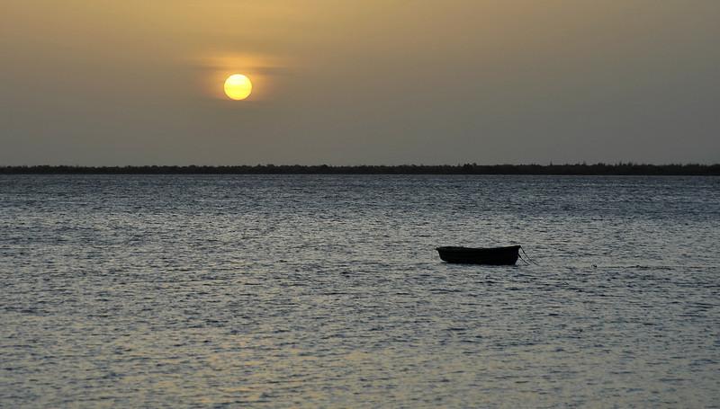Mellow sunset over Klein Bonaire