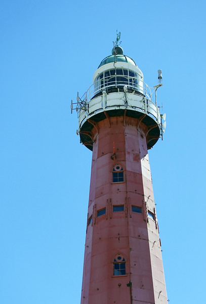 Castiron lighthouse (completed 1875)  in Scheveningen, The Netherlands