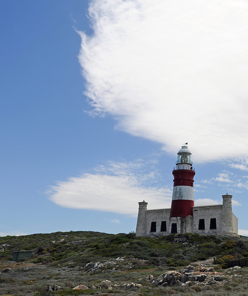 Lighthouse at Cape Agulhas, South Africa