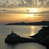 Entrance to Bonifacio harbour on the island of Corsica, France