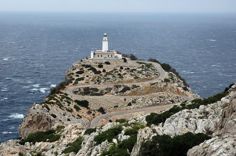 Cap Formentor in northeastern Mallorca, Spain