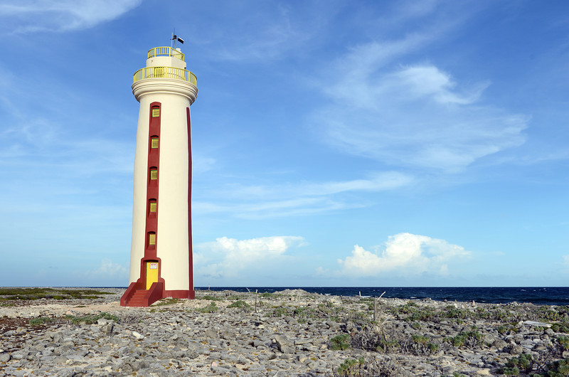 Willems Toren lighthouse in southern Bonaire