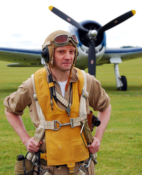 Proud pilot reliving WWII aviation history, England