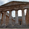 Greek temple at Segesta, Sicily