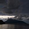 Nightfall over the Eolian Islands, Italy