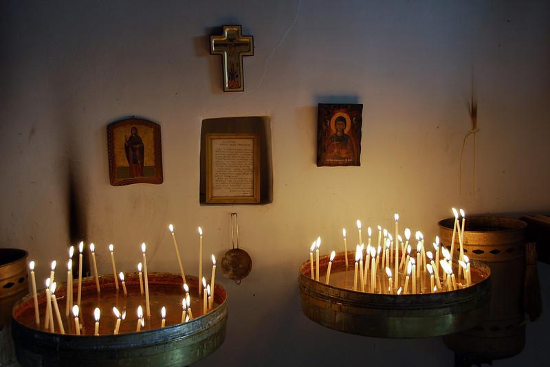 Greek Orthodox monastery of Ayia Paraskevi in Monodendri, Greece