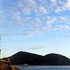 Entrance to the harbour of Lipari on the Eolian Islands, Italy
