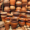 Pottery shop in Douala, Cameroon