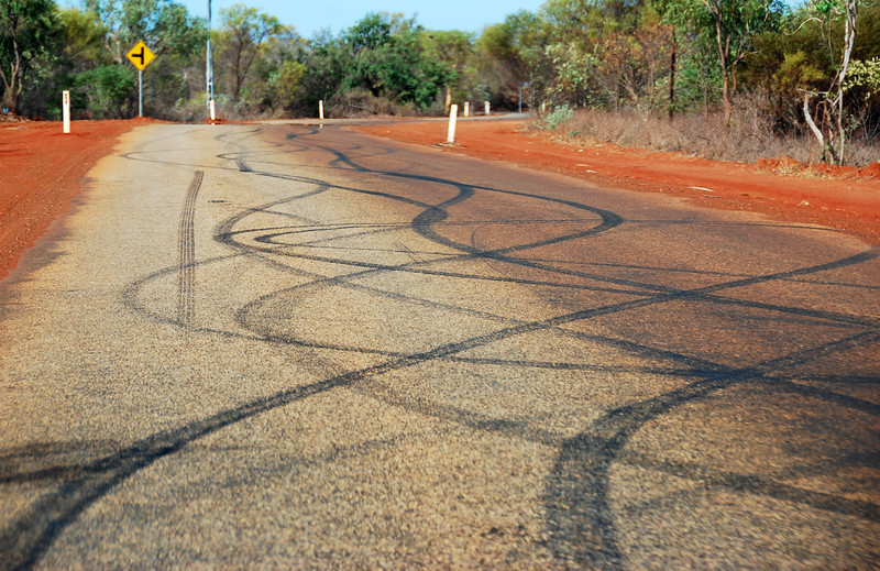 Attestations of dangerous fun in the outback near Broome, Australia